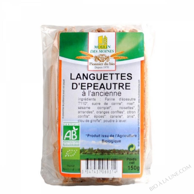 LANGUETTE D'EPEAUTRE À L'ANCIENNE - 150G
