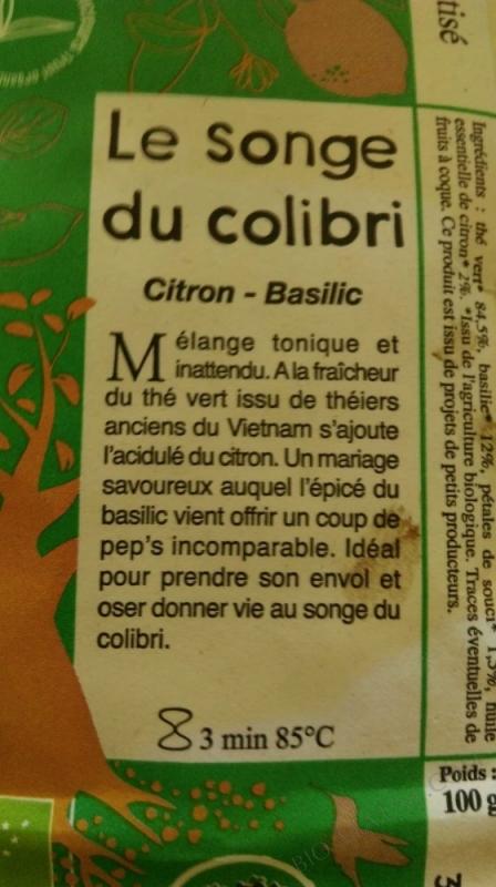 LE SONGE DU COLIBRI LES JARDINS DE GAIA