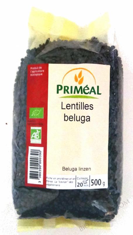 Lentilles Beluga BIO 500g