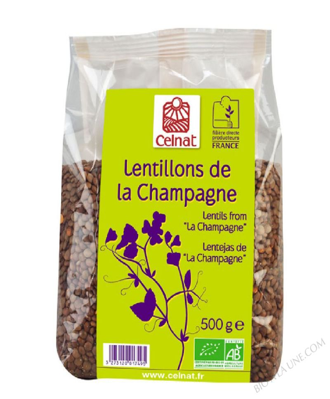 LENTILLONS CHAMPAGNE 500G COCEBI