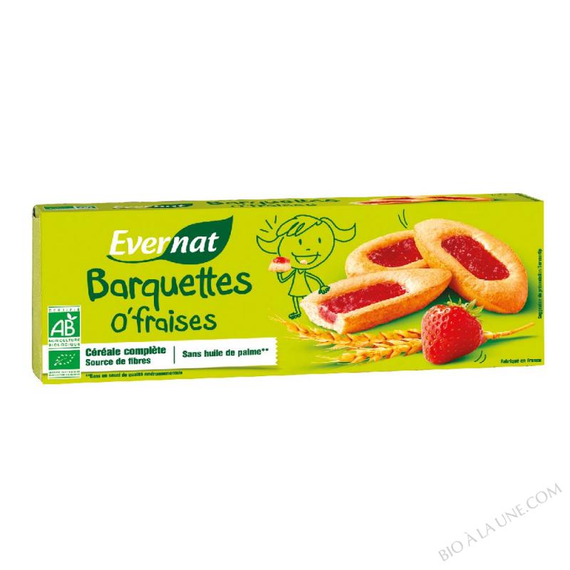 Barquettes o'fraises 120g