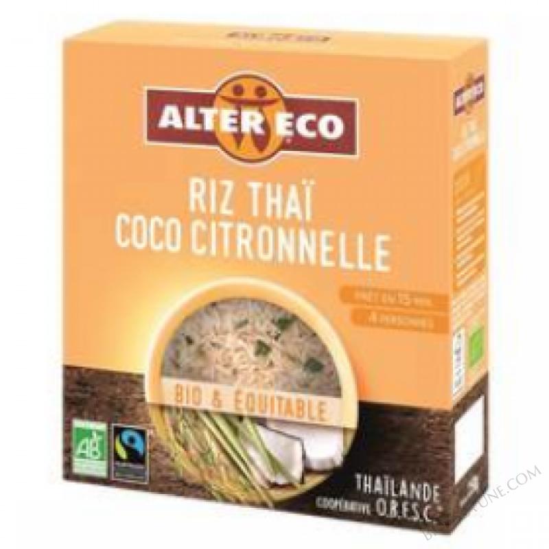 Riz Thaï Coco Citronelle- 250G
