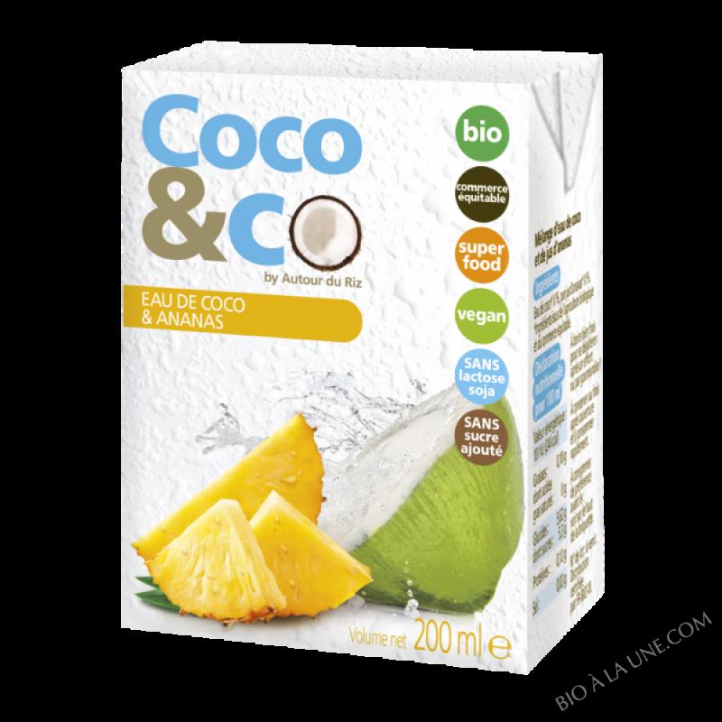 Eau De Coco Et Ananas
