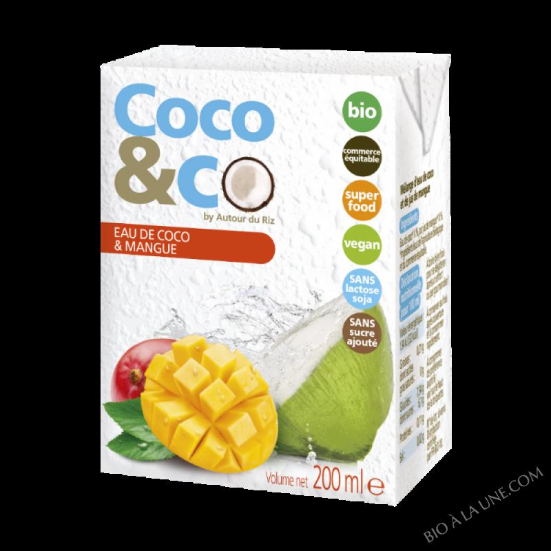 Eau Coco Et Mangue