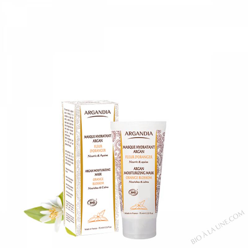 Masque Hydratant Argan Fleur d'Oranger - 75 ml
