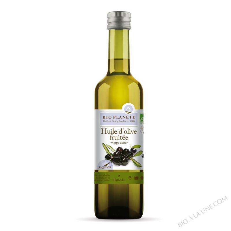 Huile d'olive vierge extra fruitée biologique