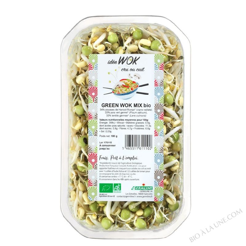 Green wok mix 180g