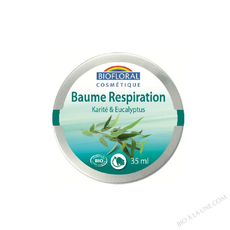 Baume respiration Karité & Eucalyptus COSMEBIO