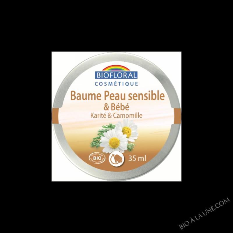 Baume peau sensible Karité & Camomille COSMEBIO