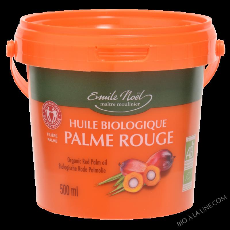 Huile de palme rouge bio - 500ml