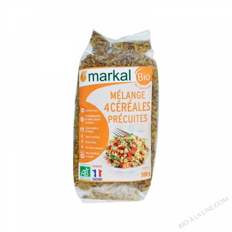 Melange 4 Cereales precuites 500g