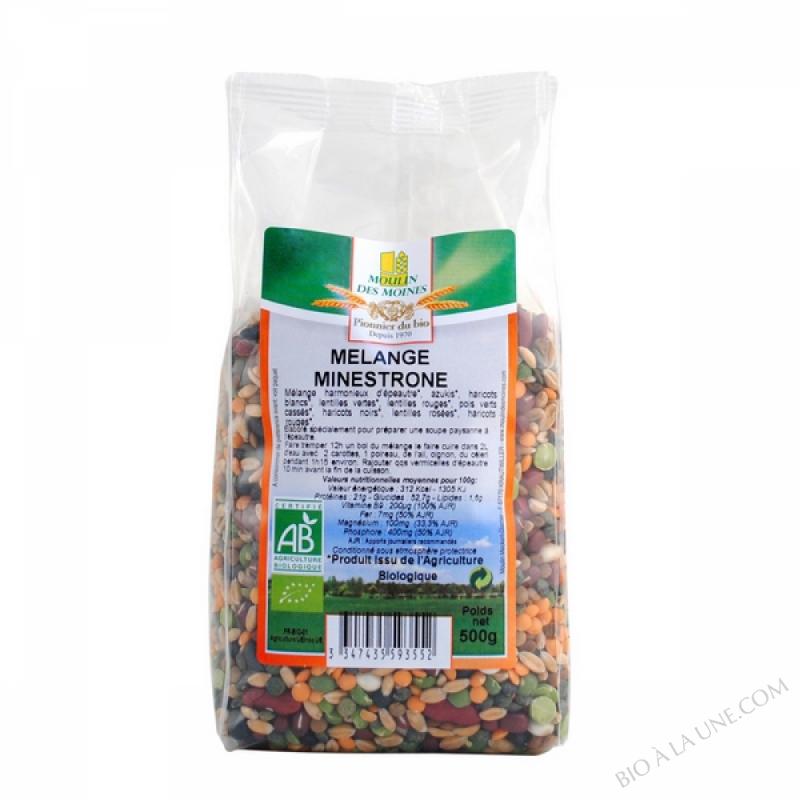 Melange minestrone bio - 500g