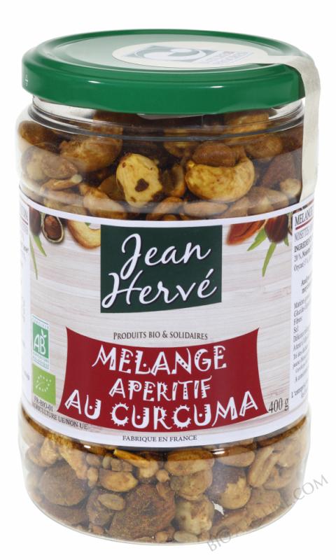 Melange Aperitif Fruits Secs, Shoyou et Curcuma 400g