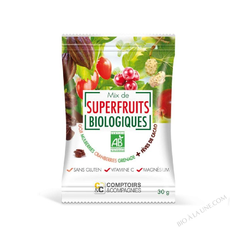 Mix de Superfruits Bio 30g