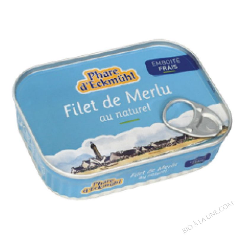 Filet de merlu au naturel