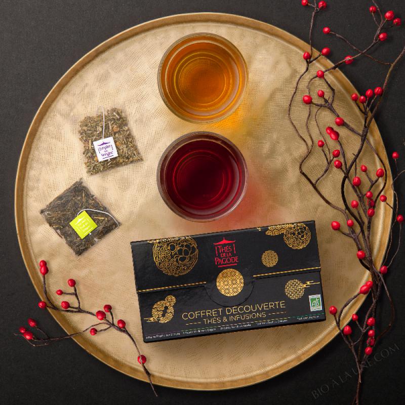 Coffret Découverte infusions et thé