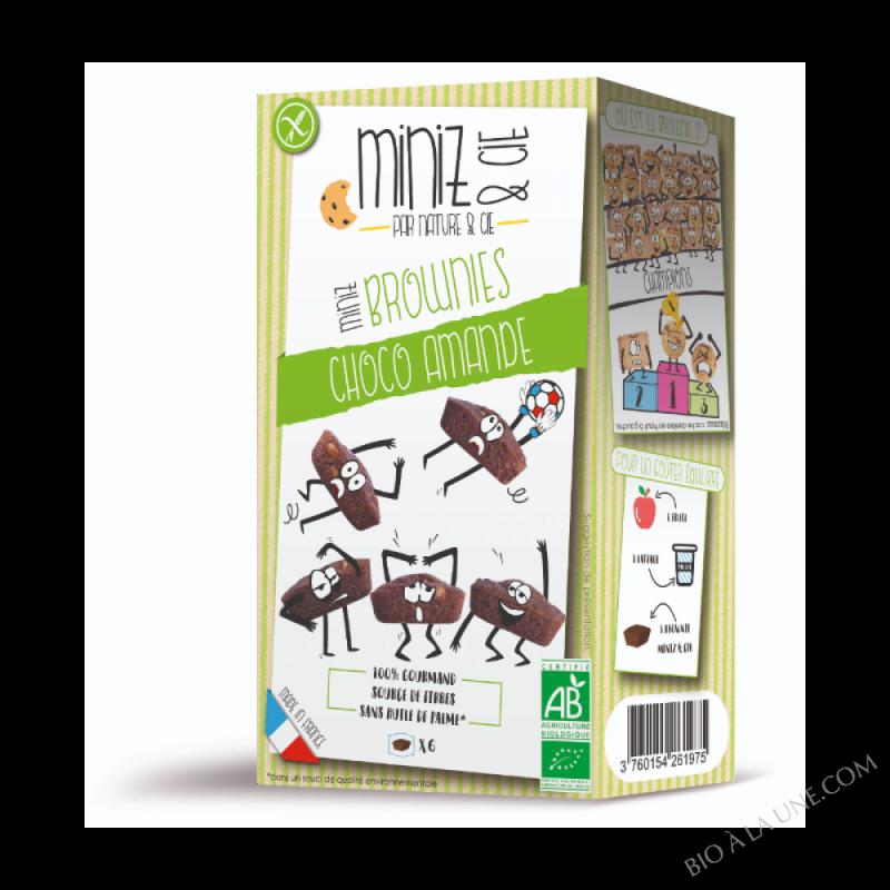 Miniz & Cie - Brownie choco-amande