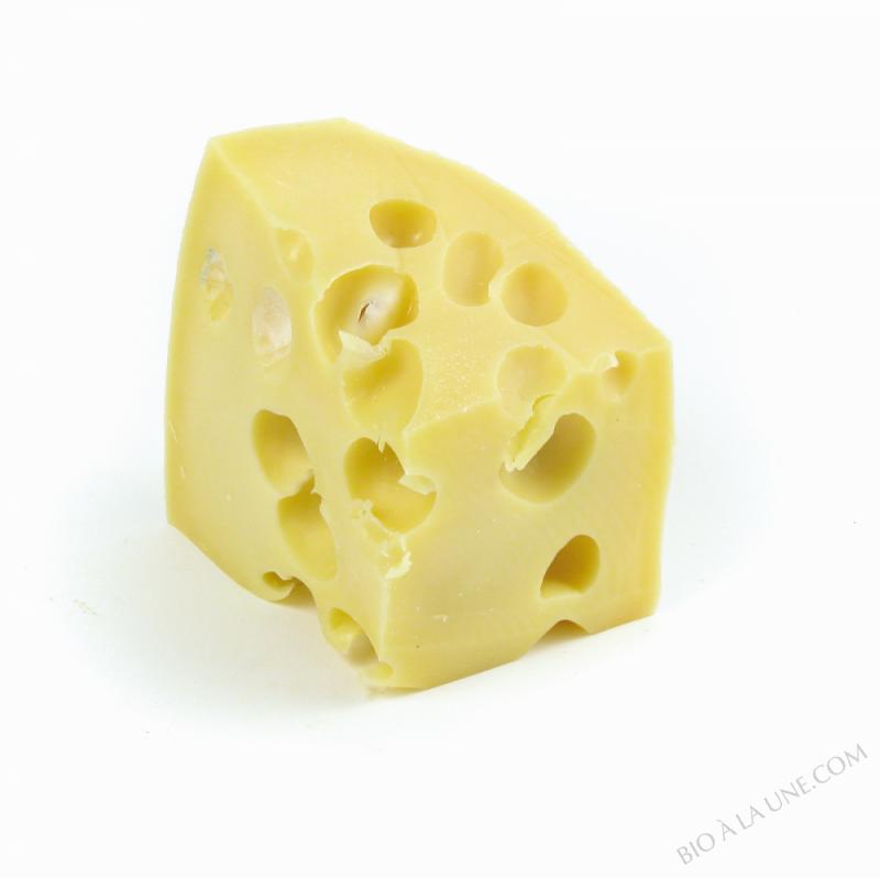 emmental bloc 3.2kg lait cru Français BIO