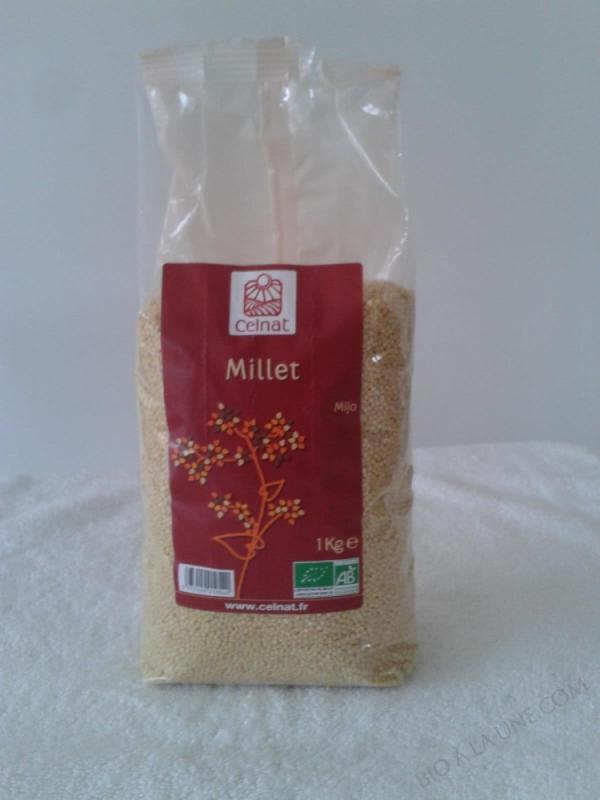 CELNAT Millet BIO - 1KG