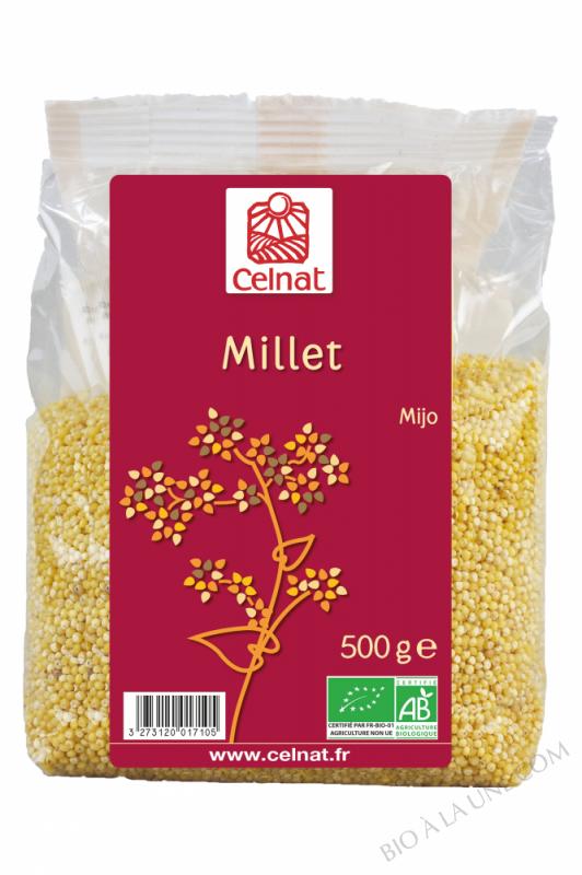 CELNAT Millet BIO - 500g