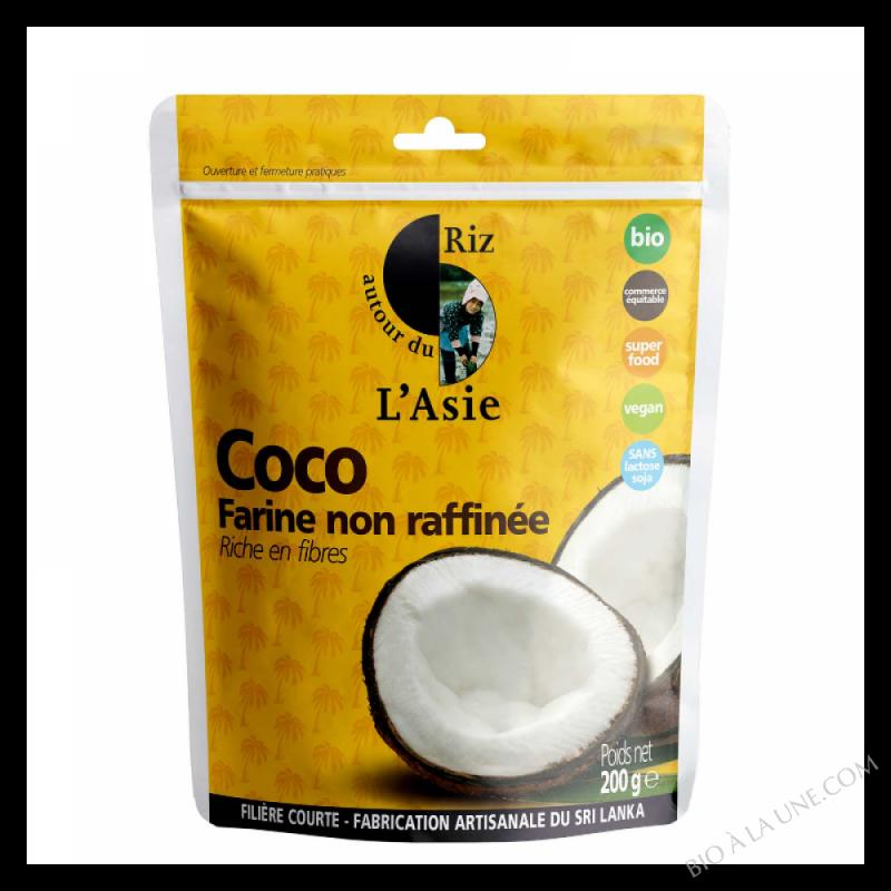 Farine De Coco Non Rafinée - 200g