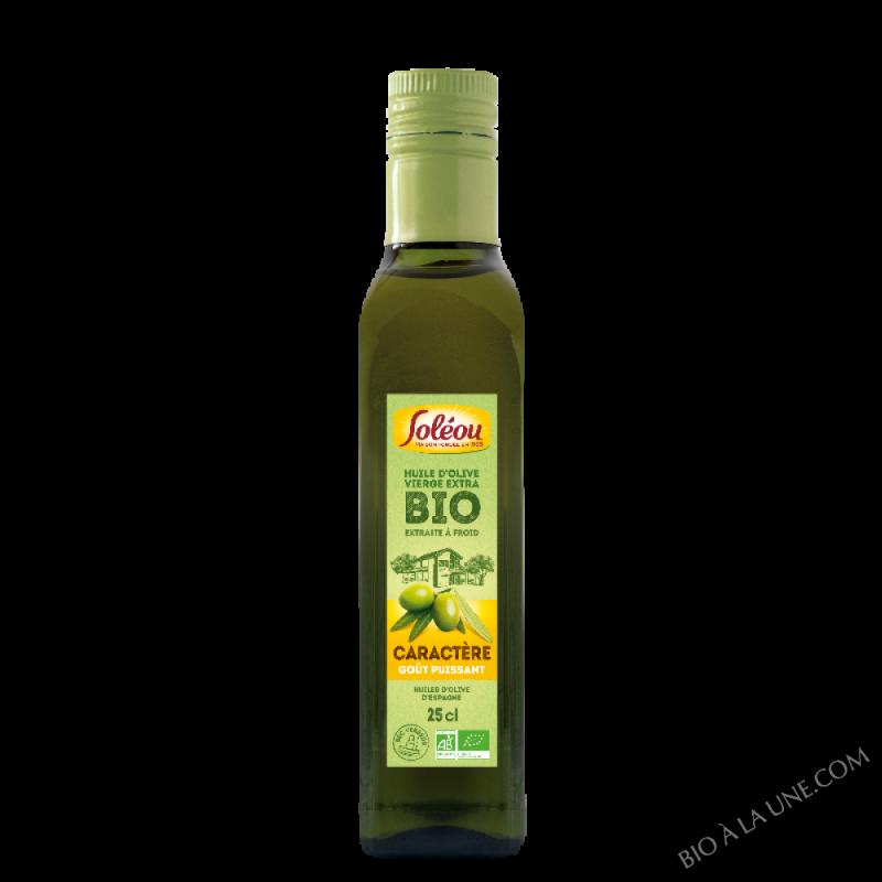 Huile d'Olive BIO Caractère - 25cl