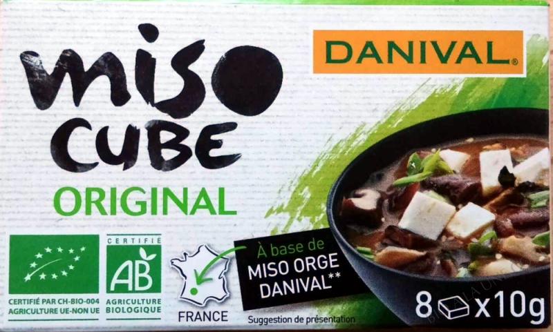 Miso cube vegetal BIO 8 x10g
