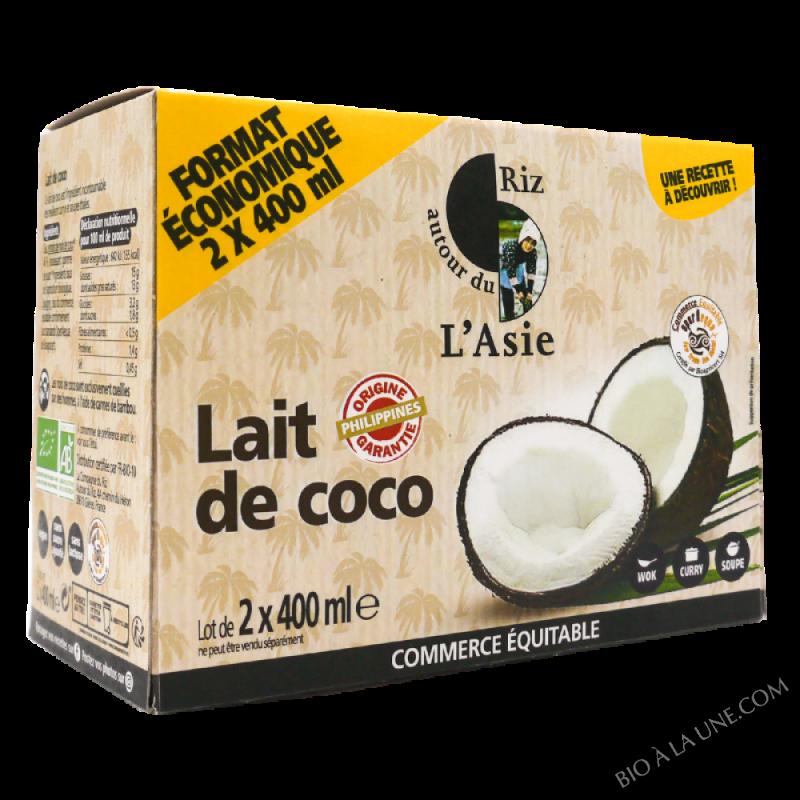 Lait De Coco - 2 x 400 Ml