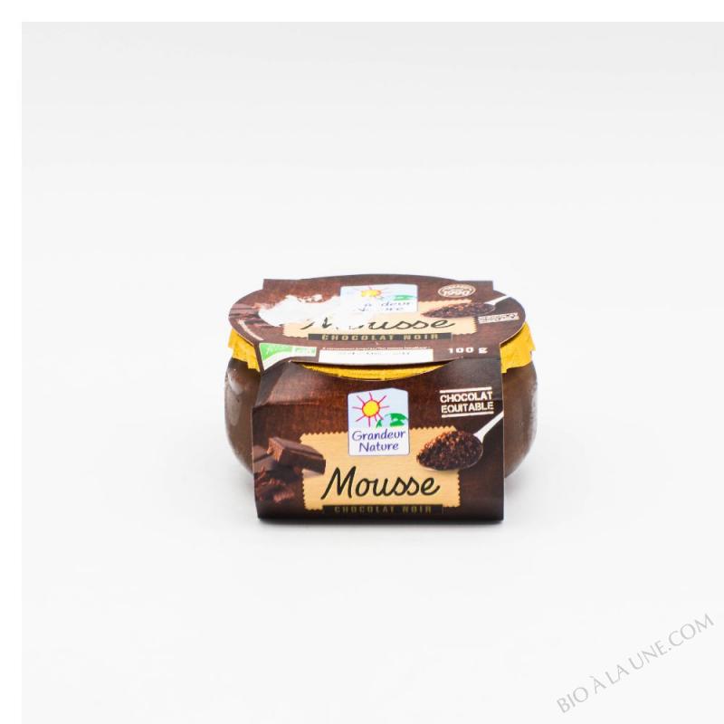 MOUSSE CHOCOLAT NOIR 100G