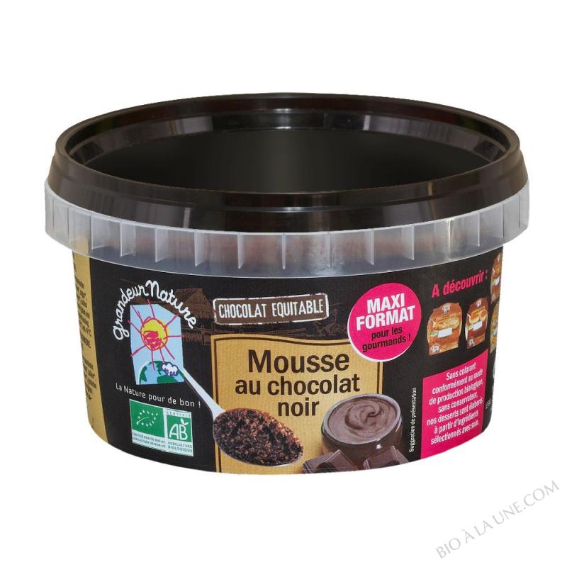 MOUSSE AU CHOCOLAT NOIR 350 G