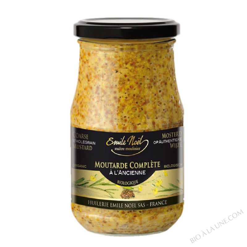 Moutarde à l'ancienne en grains - 200g