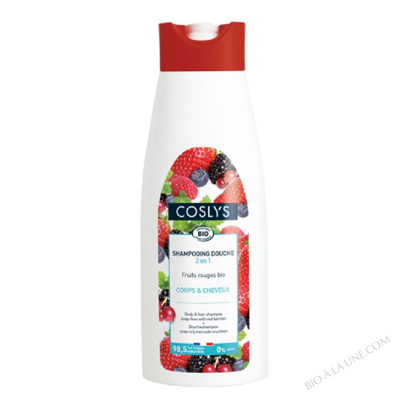 SHAMPOING DOUCHE FRUITS ROUGES - 1L