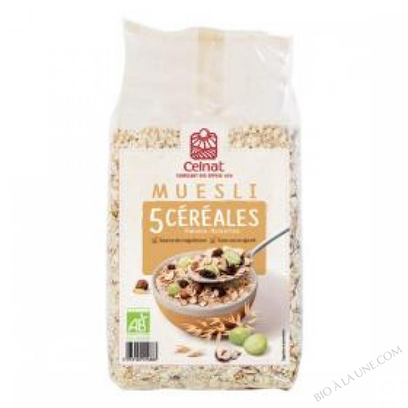 CELNAT Muesli 5 Céréales 3kg