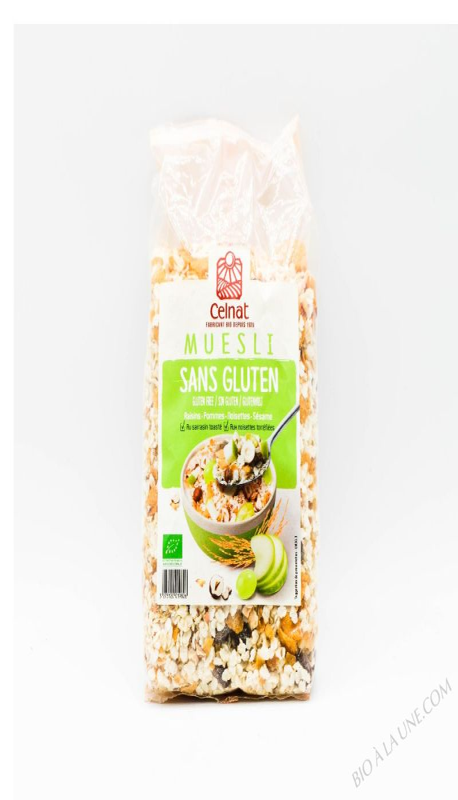 CELNAT Muesli Sans Gluten BIO - 375g
