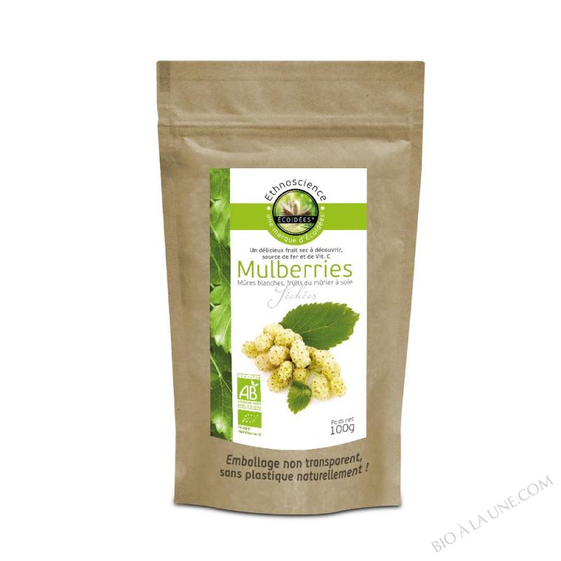 Mulberries blanches BIO - sachet 100g