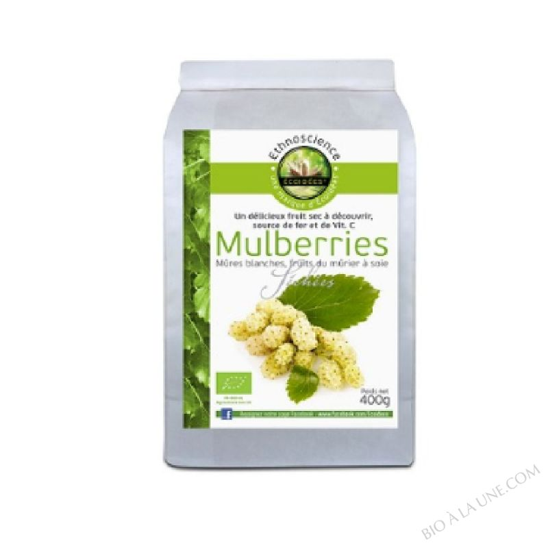 Mulberries séchés bio 400g
