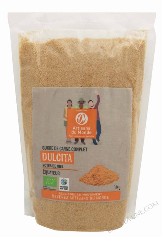 Sucre de canne complet Dulcita - 1kg