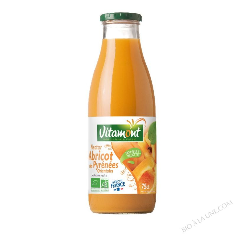 Nectar Abricots Sirop d'Agave Bio 75cL