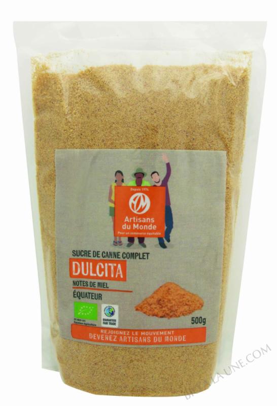 Sucre de canne complet Dulcita - 500g
