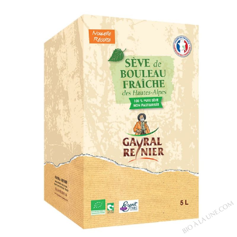 Sève De Bouleau Fraiche - 5L