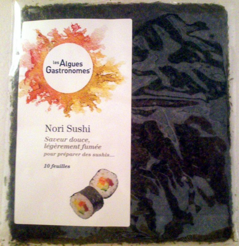 Nori 10 feuilles pour sushi - 30 g