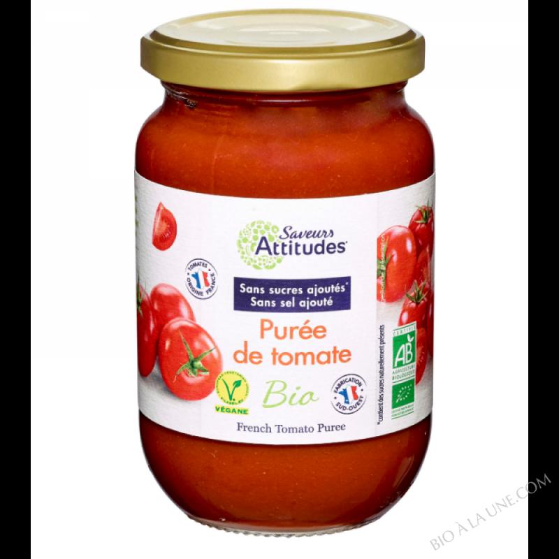 Purée de tomate bio - Tomates Françaises 360g