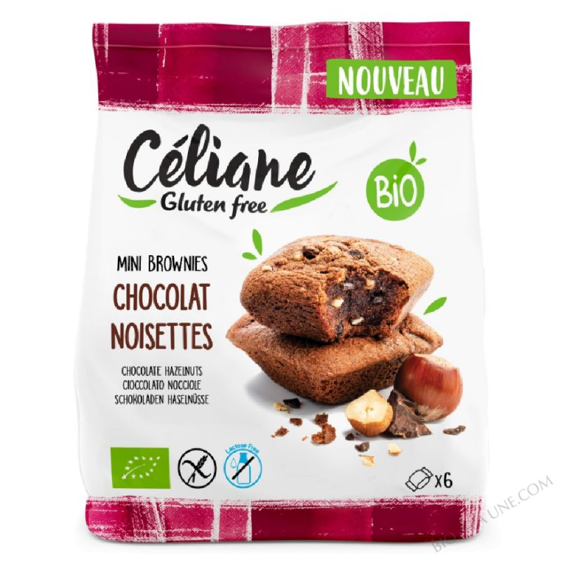 Mini Brownies chocolat noisettes