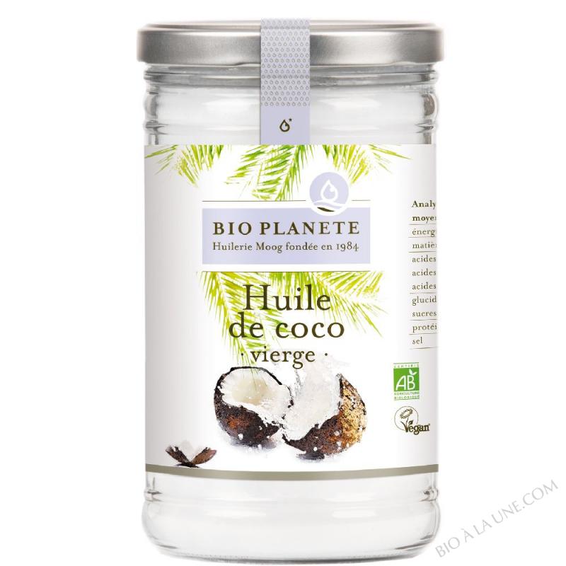 Huile bio de coco, vierge. biologique