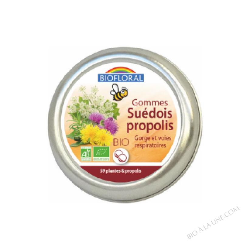 GE Gommes Suedois … la Propolis BIO - 45 g