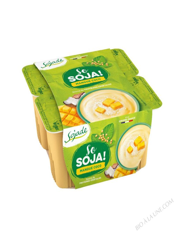 SOJADE MANGUE COCO 4x100G