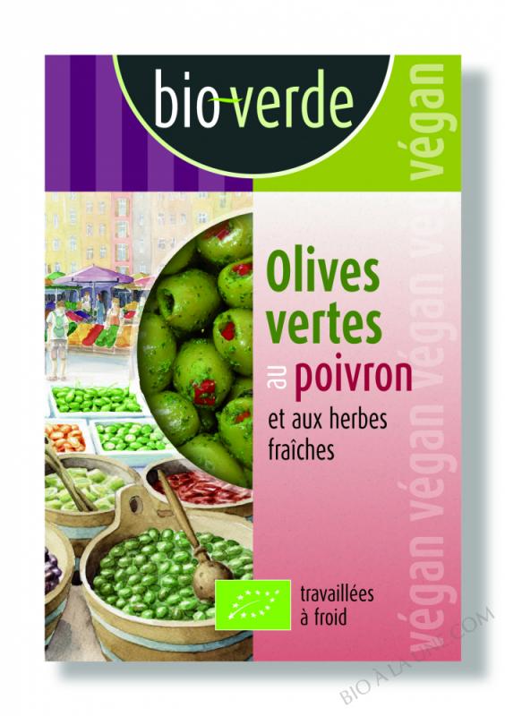 Olive Verte Denoy Farcie Poivron - 150G