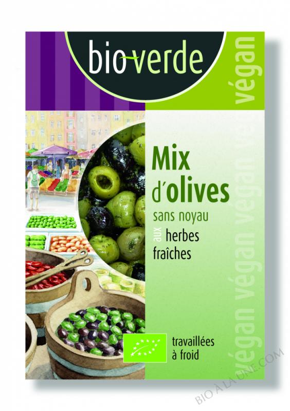 Olive Verte Et Noire Denoyautee - 150G