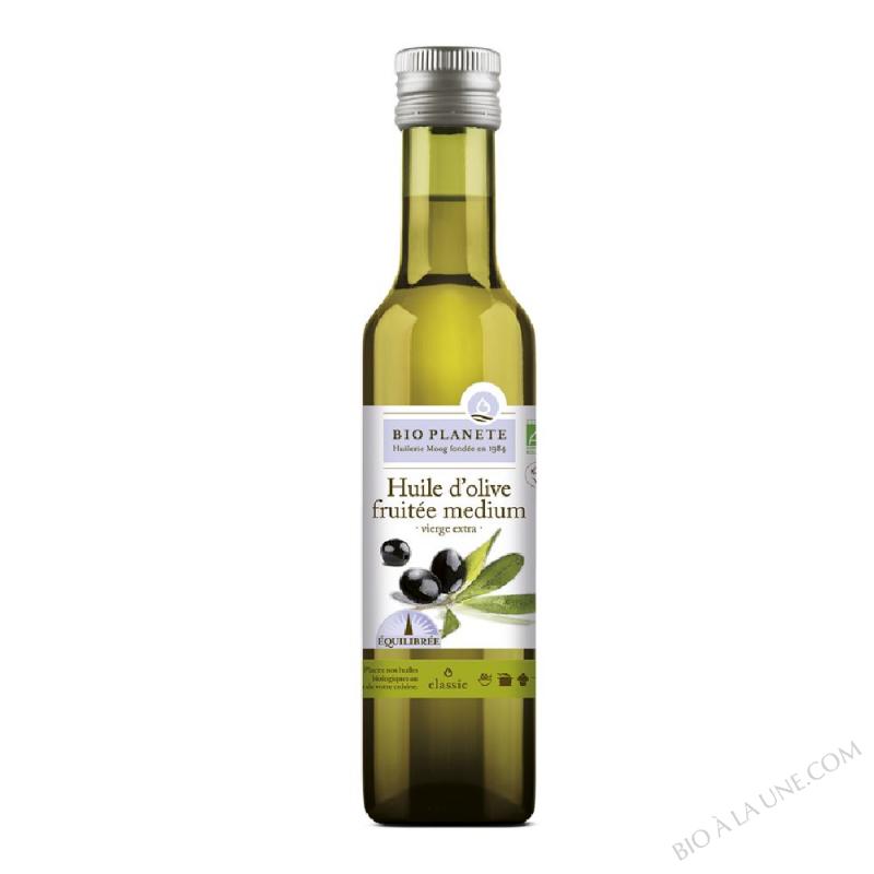Huile d'olive vierge extra fruitée medium biologique
