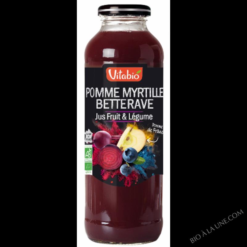 Cocktail Pomme de France Myrtille Betterave - 50cl
